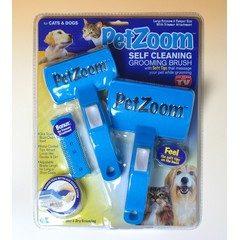 Perie dubla profesionala pentru animale PET ZOOM