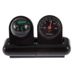 Busola auto si termometru auto