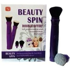 Set pensula de make up electrica rotativa Beauty Spin