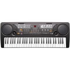Orga electronica 61 de clape MQ-809 cu microfon si citire USB / MP3