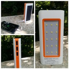 Baterie externa solara Power Bank 20000MaH