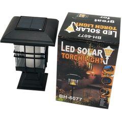 Felinar de gradina cu incarcare solara si LED efect de flacara BH-6077