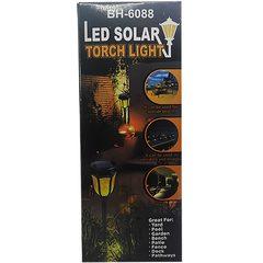 Lampa solara tip felinar bulb pe LED cu efect de flacara BH-6088