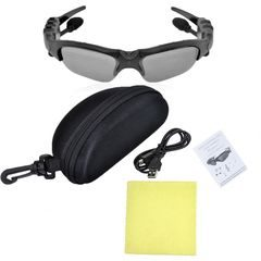 Ochelari de soare cu MP3 player si casti prin Bluetooth incorporat