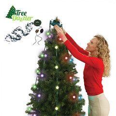 Instalatie de craciun pentru brad 48 LED jocuri lumini Tree Dazzler