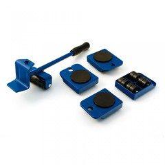 Aparat cu role pentru mutat mobila sau alte obiecte grele 4 role x 150 Kg
