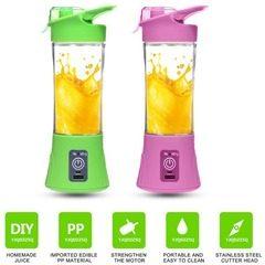 Mini Blender Juice Maker portabil cu acumulator si alimentare prin USB