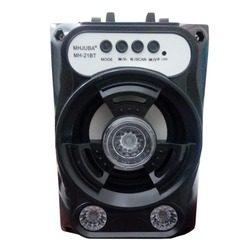 Boxa portabila cu Bluetooth iluminata LED cu Radio FM, si cititor USB / TF card MH-21BT