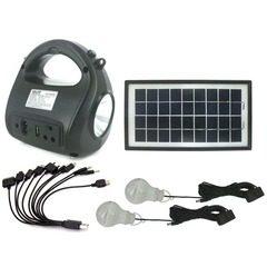 Kit sistem solar cu stick USB si card de memorie GDLITE GD-8009