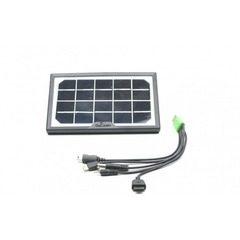 Panou solar fotovoltaic policristalin portabil pentru incarcare telefoane si intrare USB-CL-518WP