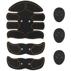 Kit Smart Fitness EMS electrostimulare corporala cu 8 paduri Unisex