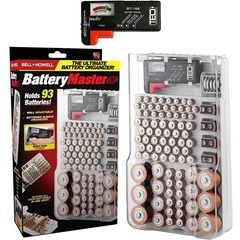 Organizator si tester pentru stocarea bateriilor Battery Master