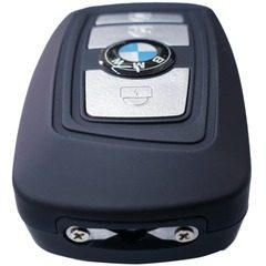 Mini electrosoc tip cheie masina BMW cu Lanterna si sirena TW-1801