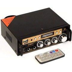 Amplificator audio cu Bluetooth si slot pentru USB, MicroSD,putere 2 x 60 W RMS