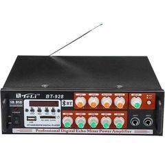 Amplificator audio Bluetooth Teli BT-928 cu FM radio si SD card