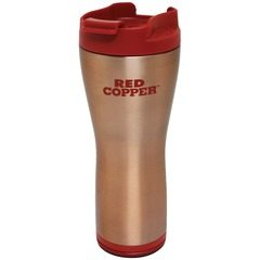 Termos cafea cu Smart Grip si interior inox Red Copper Mug, 470 ml