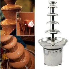 Fantana de ciocolata profesionala 5 etaje Chocolate Fountain D20099