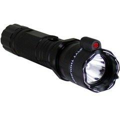 Lanterna cu electrosoc si laser incorporat pentru autoaparare