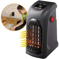 Mini aeroterma portabila cu display Handy Heater 400 Watts