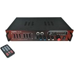 Amplificator digital tip statie AV-306, 2x50 W cu Bluetooth si telecomanda
