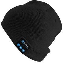 Caciula unisex cu casti Bluetooth incorporate si microfon Handsfree