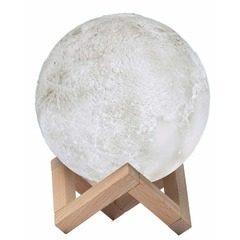 Lampa de veghe in forma de luna reincarcabila,Moon Lamp 3D