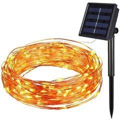 Instalatie craciun solara pentru casa sau gradina 120 LED