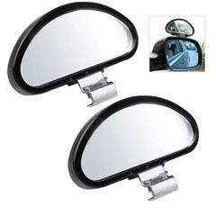 Set oglinzi auto auxiliare reglabile cu fixare clema exterioara