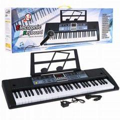 Orga electronica 61 clape cu microfon și suport pentru note MQ-886USB