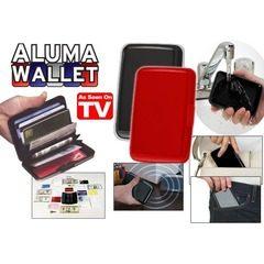 Portofel pentru carduri Aluma Wallet 1+1 GRATIS