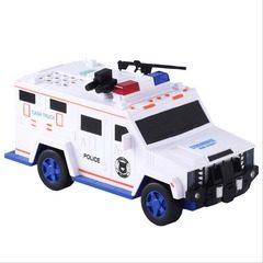 Pusculita electronica sub forma unei masini de politie,Cash Truck