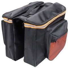 Geanta dubla pentru portbagaj bicicleta,Bicycle Bag