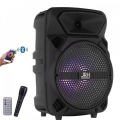Boxa portabila activa G8, cu Bluetooth, Radio Fm, Microfon, Telecomanda, 300 Watt