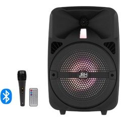 Boxa Bluetooth activa si portabila, JRH Q8 cu microfon inclus, 300 Watti