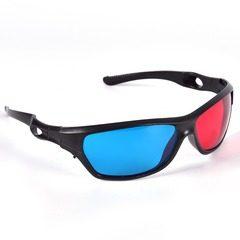 Ochelari 3D lentile red-cyan, anaglifici, cu marime universala