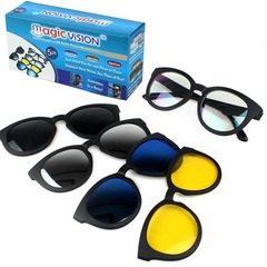Ochelari de soare 5-in-1 cu lentile interschimbabile, Magic Vision