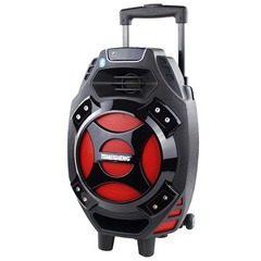 Boxa activa portabila tip troler Temeisheng Q7S-16, cu microfon wireless
