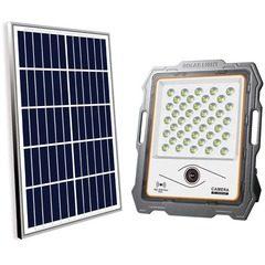 Camera de supraveghere WiFi cu proiector LED 100W si panou solar KlaussTech
