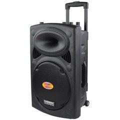 Boxa portabila tip troler Temeisheng DP297L, 400 W cu Bluetooth
